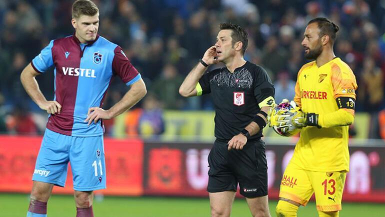 Trabzonspor-Göztepe maçı için kural hatası itirazı
