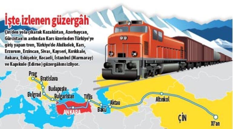 Demir İpek yoluyla iki kıta bağlandı