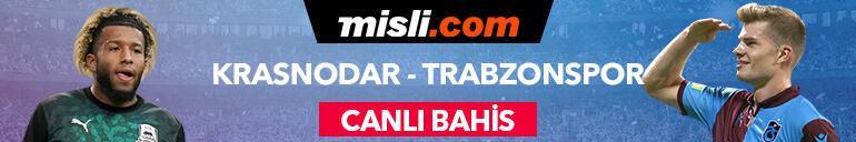 Krasnodar - Trabzonspor maçı canlı bahis heyecanı Misli.comda
