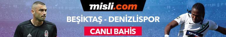 Beşiktaşın konuğu Denizlispor Kritik maç canlı bahisle Misli.comda...