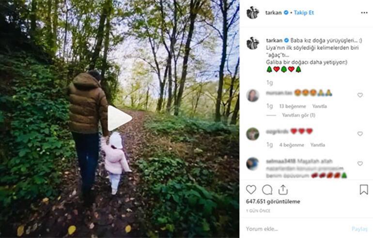 Tarkan kızını paylaştı: Bir doğacı daha yetişiyor