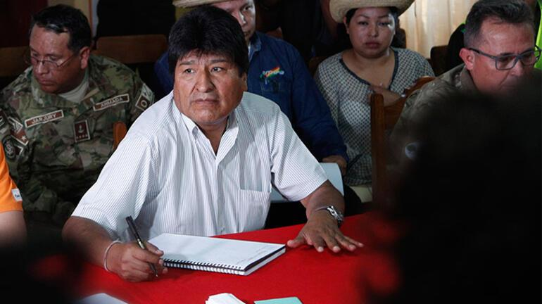 Son dakika: Bolivyada sular durulmuyor... İstifa etti