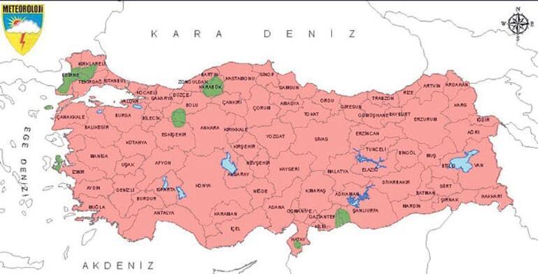 'En sıcak' ekim İstanbul'u vurdu