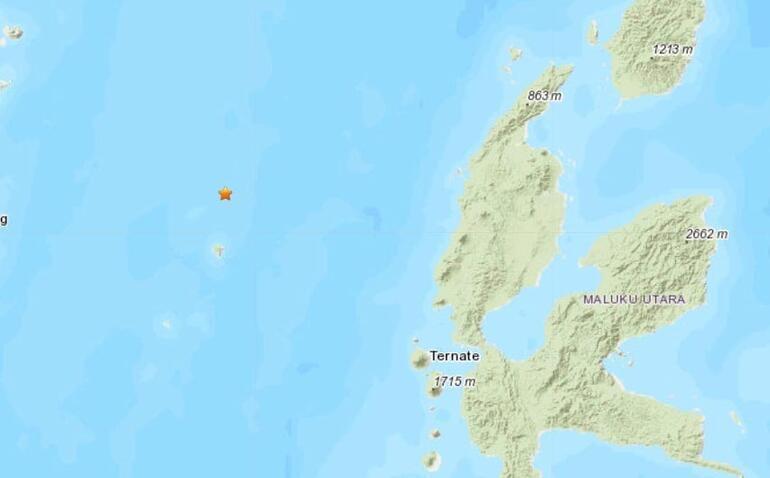 Son dakika: Endonezyada şiddetli deprem Tsunami uyarısı yapıldı