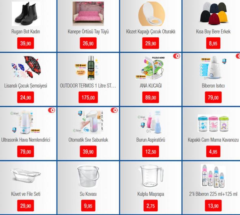 BİM aktüel ürünler kataloğu | BİM aktüel 15 Kasım 2019