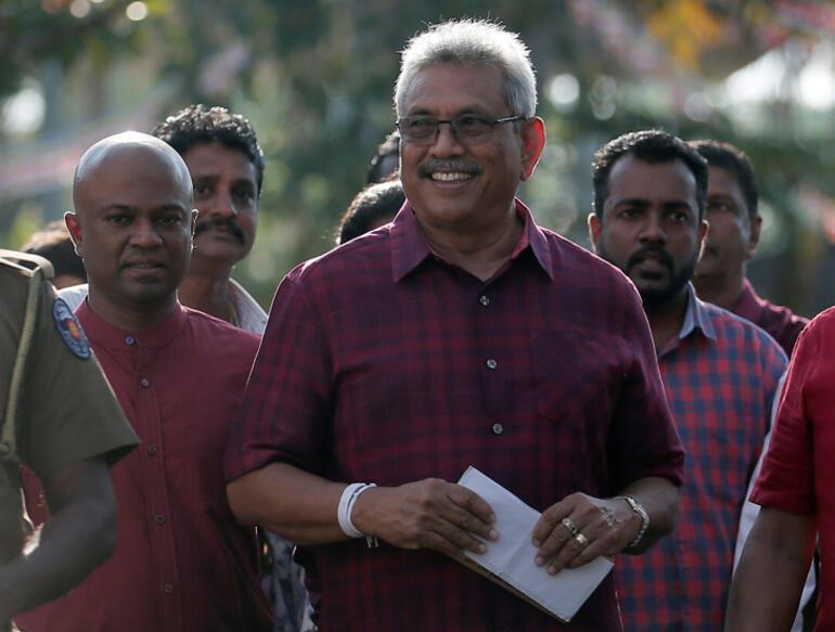Sri Lankada seçim zaferi Rajapaksanın