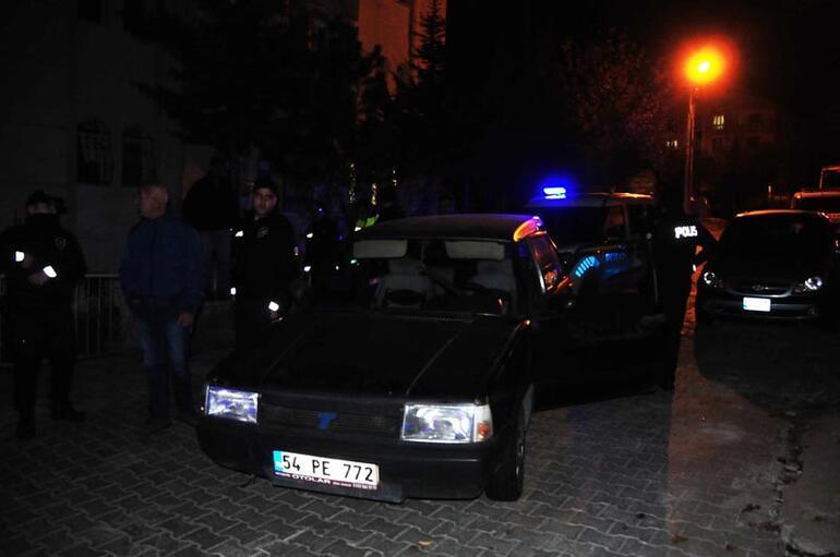 Polisin dur ihtarına uymadı Aracına saklamış...