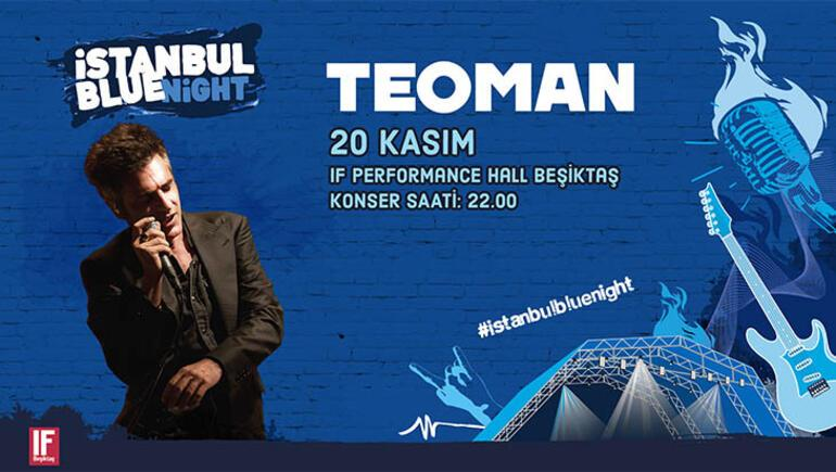 Teoman IF Performance Hall Beşiktaşta