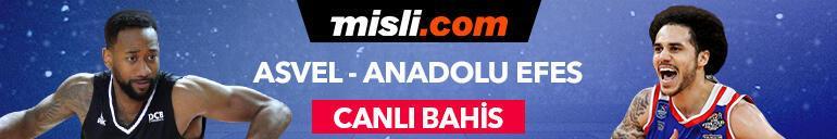 Asvel-Anadolu Efes maçı canlı bahis heyecanıyla Misli.comda
