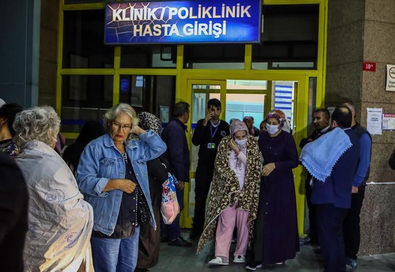 İstanbulda hastanede korkutan yangın