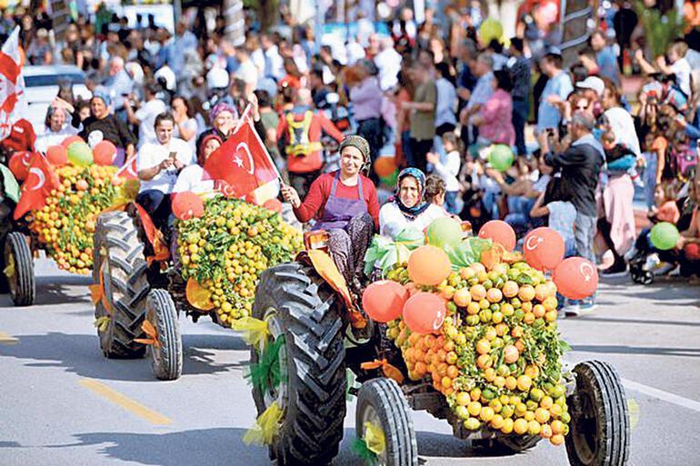 Narenciye kokulu festival
