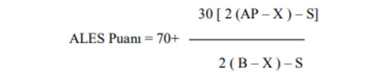 ALES/3 sonuçları ne zaman açıklanacak ALES sınav sonuç tarihi belli oldu