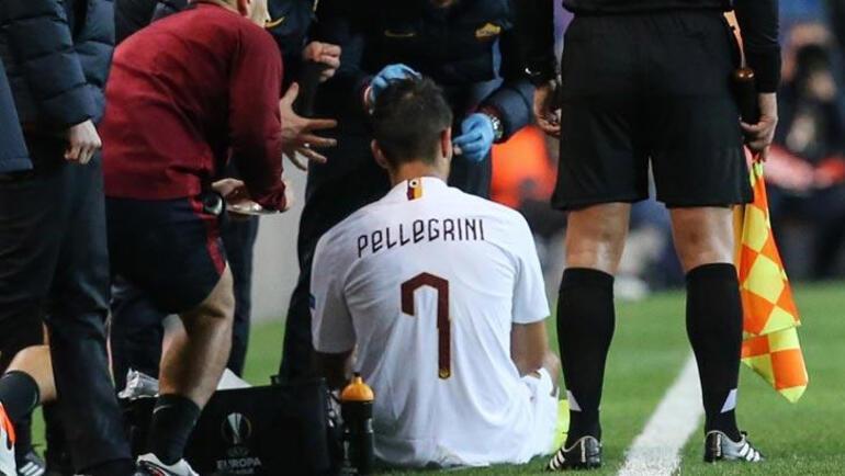 Roma maçında sahaya yabancı madde atan 3 kişi gözaltına alındı
