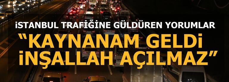 İstanbulda trafik felç