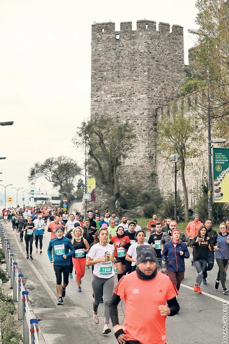 'İstanbul'u koşuyorum' sezon finali yaptı