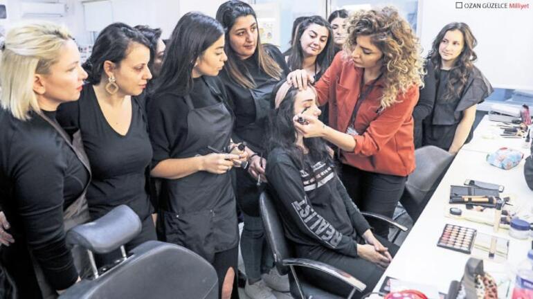 Güzellik ve saç bakım kurslarına yoğun ilgi