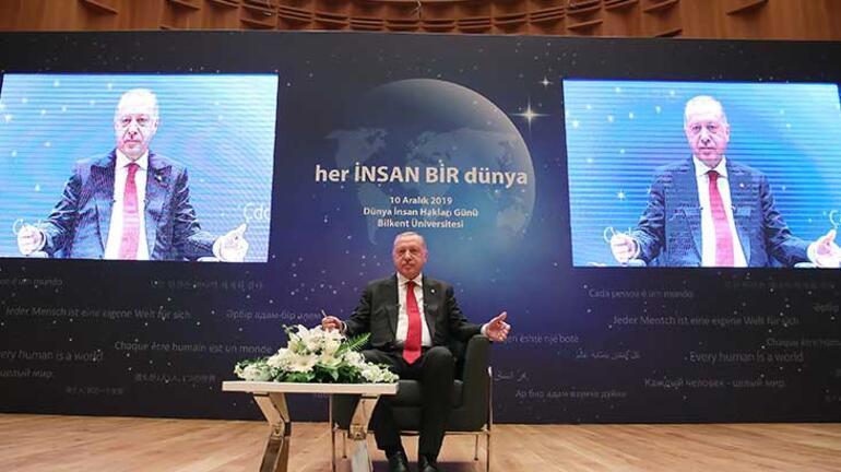 Son dakika... Cumhurbaşkanı Erdoğan, En beğendiniz lider kim sorusuna bu yanıtı verdi
