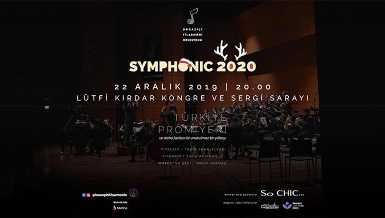 Boğaziçi Filarmoni Orkestrasından yılbaşı konseri