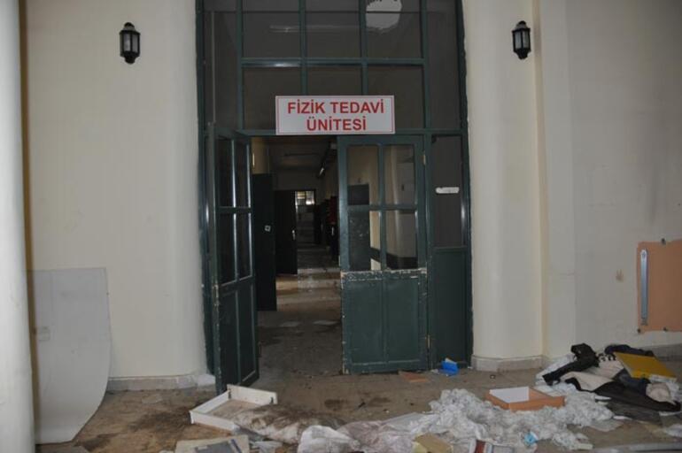 Eski hastane binasında fuhuş yapılıyor iddiası