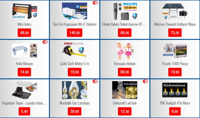 BİM, 20 Aralık aktüel ürünler kataloğu BİM aktüel ürünler kataloğunda bu hafta neler var