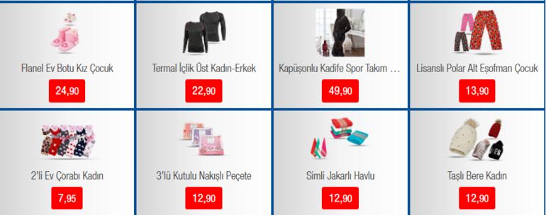 BİM aktüel ürünler kataloğu yayımlandı BİM aktüel ürünler kataloğunda hangi indirimli ürünler yer alıyor