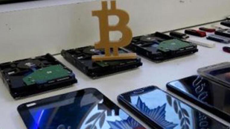 Mersin'de, bitcoin hırsızları yakalandı