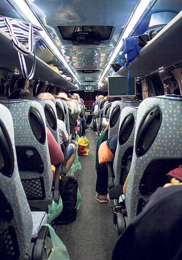Otobüste Alman usulü