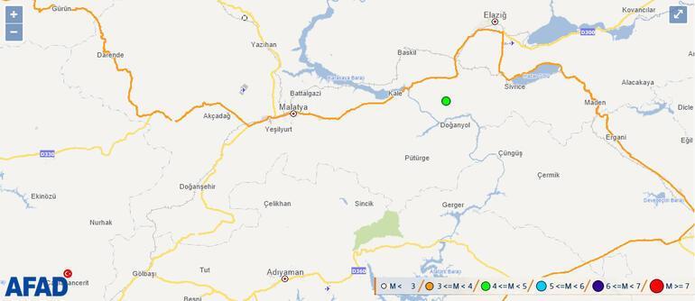 Son dakika: Elazığda deprem korkuttu 5 ilde büyük panik...