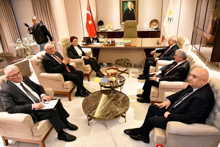 Kılıçdaroğlu, Akşener ile Libya Tezkeresini konuştu