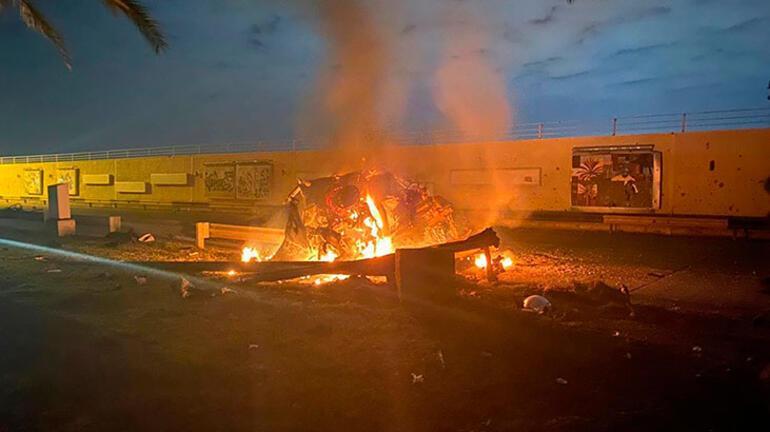 Son dakika | Irak: Bağdat Havalimanındaki füzeli saldırıda üst düzey sorumlular öldürüldü