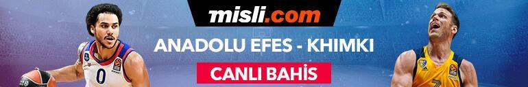 Anadolu Efes - Khimki maçı canlı bahis heyecanı Misli.comda
