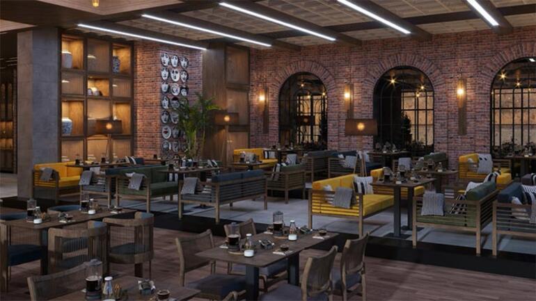 Orta Doğu  Cafe ve Restoran Mekanlarına Türk Dokunuşları
