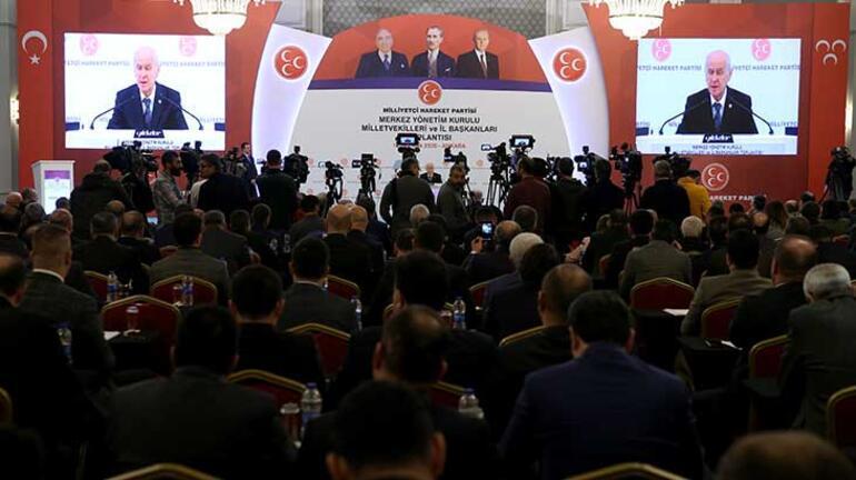 Son dakika... MHP Genel Başkanı Devlet Bahçeliden önemli açıklamalar