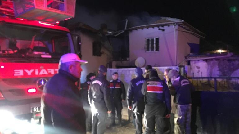 Niğdede yangın faciası 4 ölü, 3 yaralı