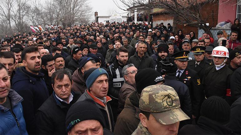 Şehit Uzman Çavuş, Edirnede gözyaşlarıyla uğurlandı