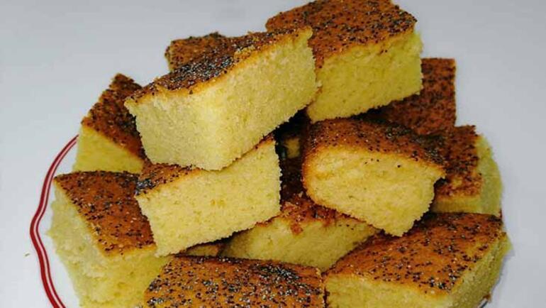 Mısır unu lezzeti: Gülüt kek