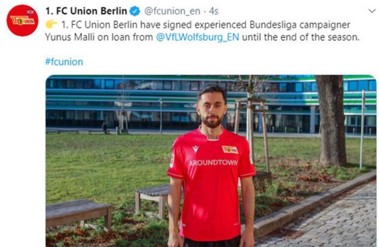 Transfer haberleri | Yunus Mallı, Union Berlinde