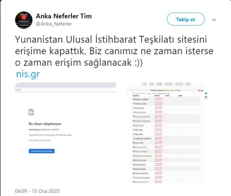 Yunanistana hacker şoku Canımız ne zaman isterse o zaman erişim sağlanacak