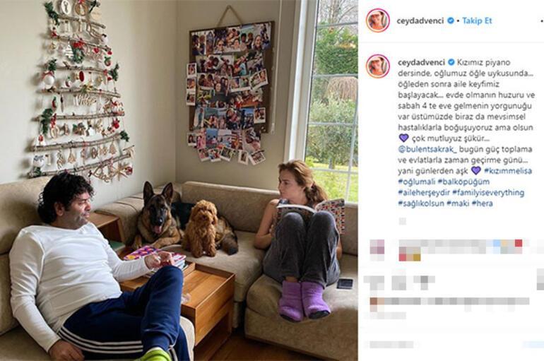 Ceyda Düvenci-Bülent Şakrakın ev halleri