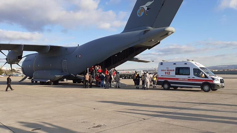 Son dakika... Somalide yaralanan 10 kişi Türkiyede