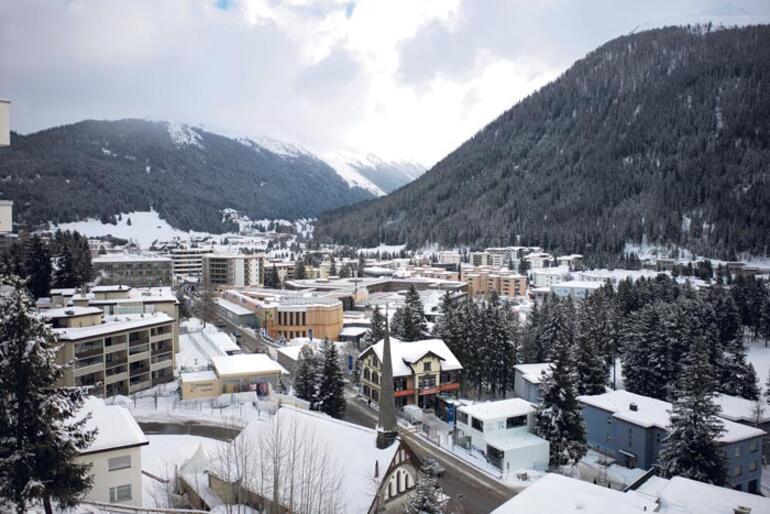 Davos'a Türk çıkarması