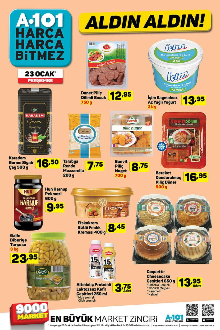 A 101 aktüel ürünler kataloğu yayımlandı A 101 aktüel ürünler kataloğunda bu hafta neler var
