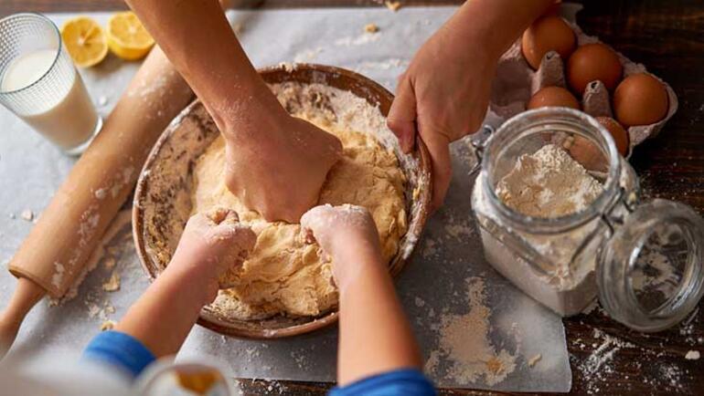 Elmalı kurabiye nasıl yapılır İşte elmalı kurabiye malzemeleri ve tarifi...