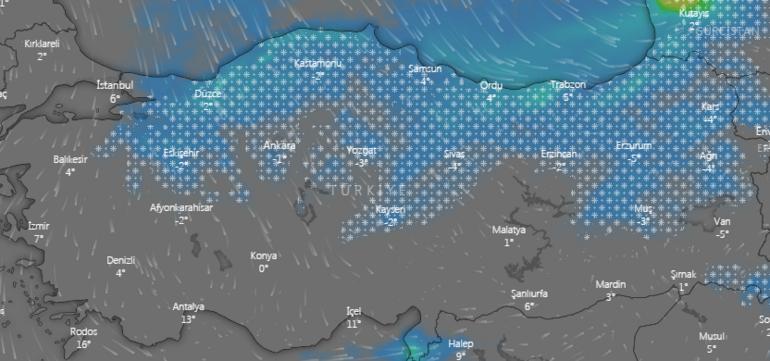 İstanbula kar yapacak mı Ne zaman kar yağacak