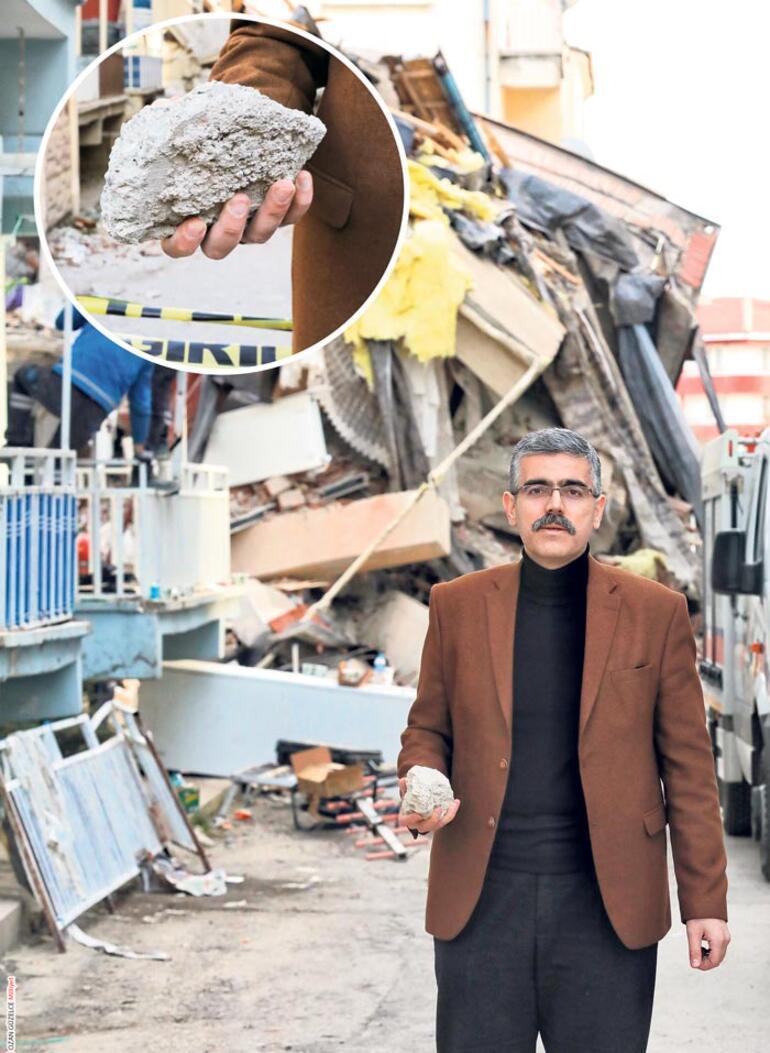 Son dakika   Elazığda depremde yıkılan binaları uzmanlar inceledi Dere kumu ile yapılmış