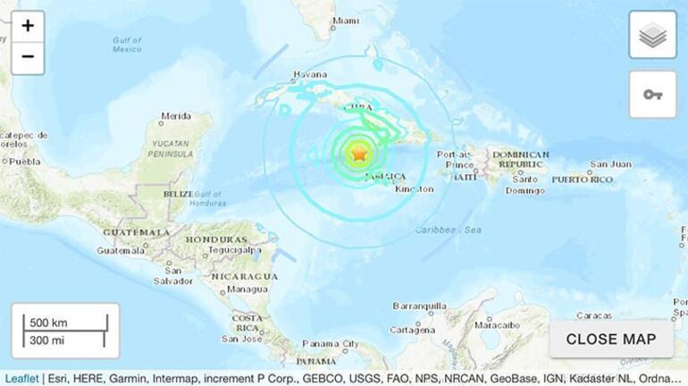 Son dakika... 7.7'lik deprem altı ülkeyi salladı