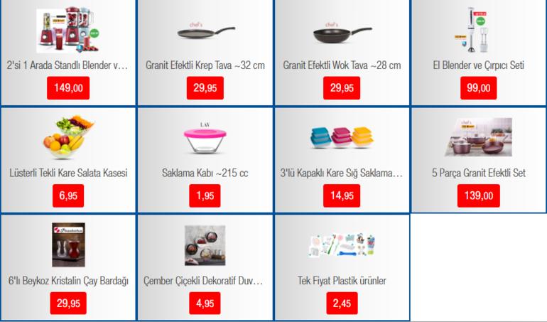 BİM 31 Ocak aktüel ürünler kataloğu yayımlandı BİM aktüel ürünler kataloğunda bu hafta hangi ürünler var