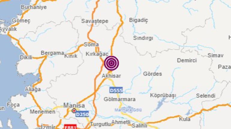 Son dakika haberi... Manisada korkutan bir deprem daha Büyüklüğü...