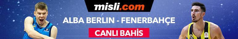 Fenerbahçe Beko - Alba Berlin maçı canlı bahis heyecanı Misli.comda