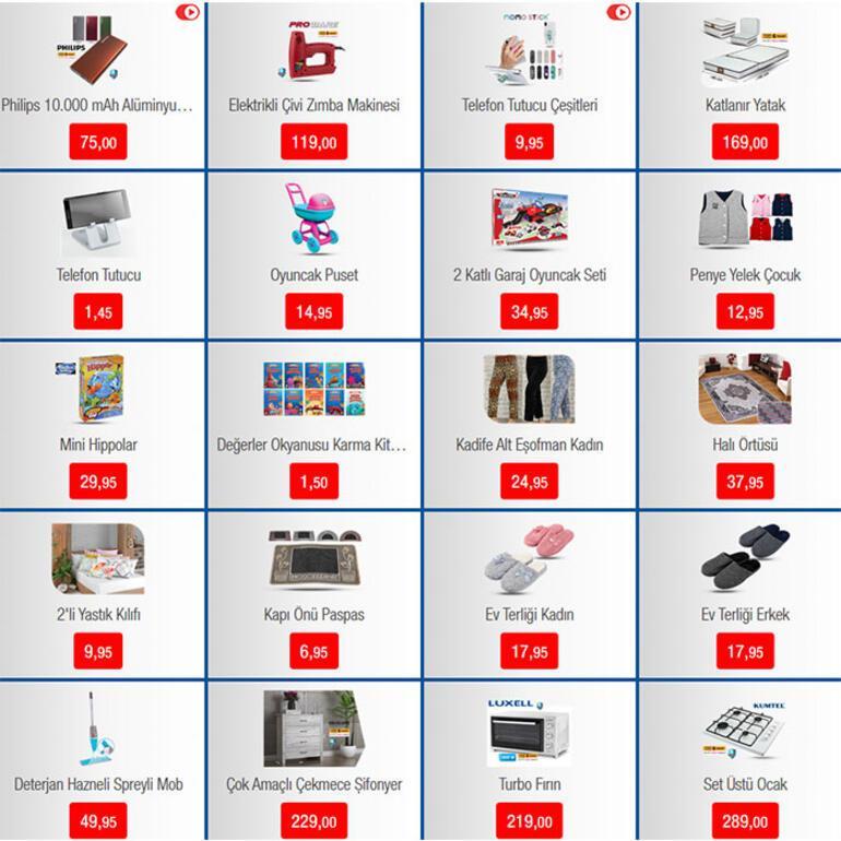 BİM 31 Ocak aktüel katalog sayfaları için tıklayınız İndirimli ürünler ve fiyatları